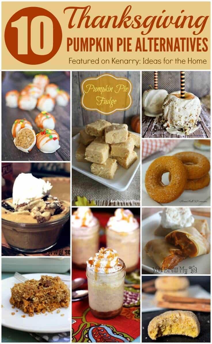 Turkey Substitutes For Thanksgiving  Pumpkin Pie Alternatives 10 Ideas for Thanksgiving