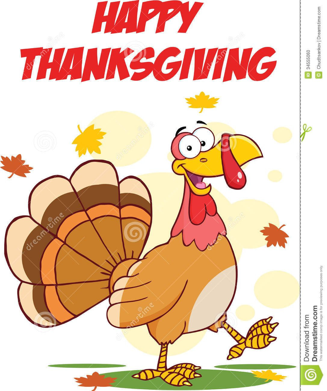 Turkey Thanksgiving Cartoon  Cartoon Thanksgiving Cartoon Thanksgiving