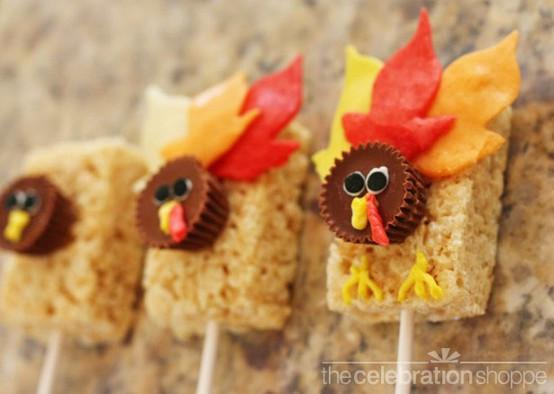 Turkey Treats For Thanksgiving  10 Thanksgiving Goo s