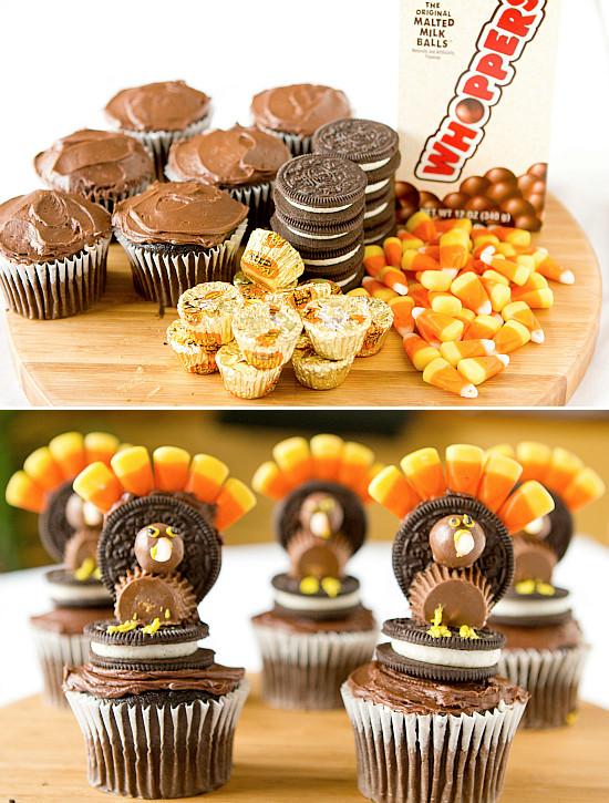 Turkey Treats For Thanksgiving  50 Cute Thanksgiving Treats For Kids