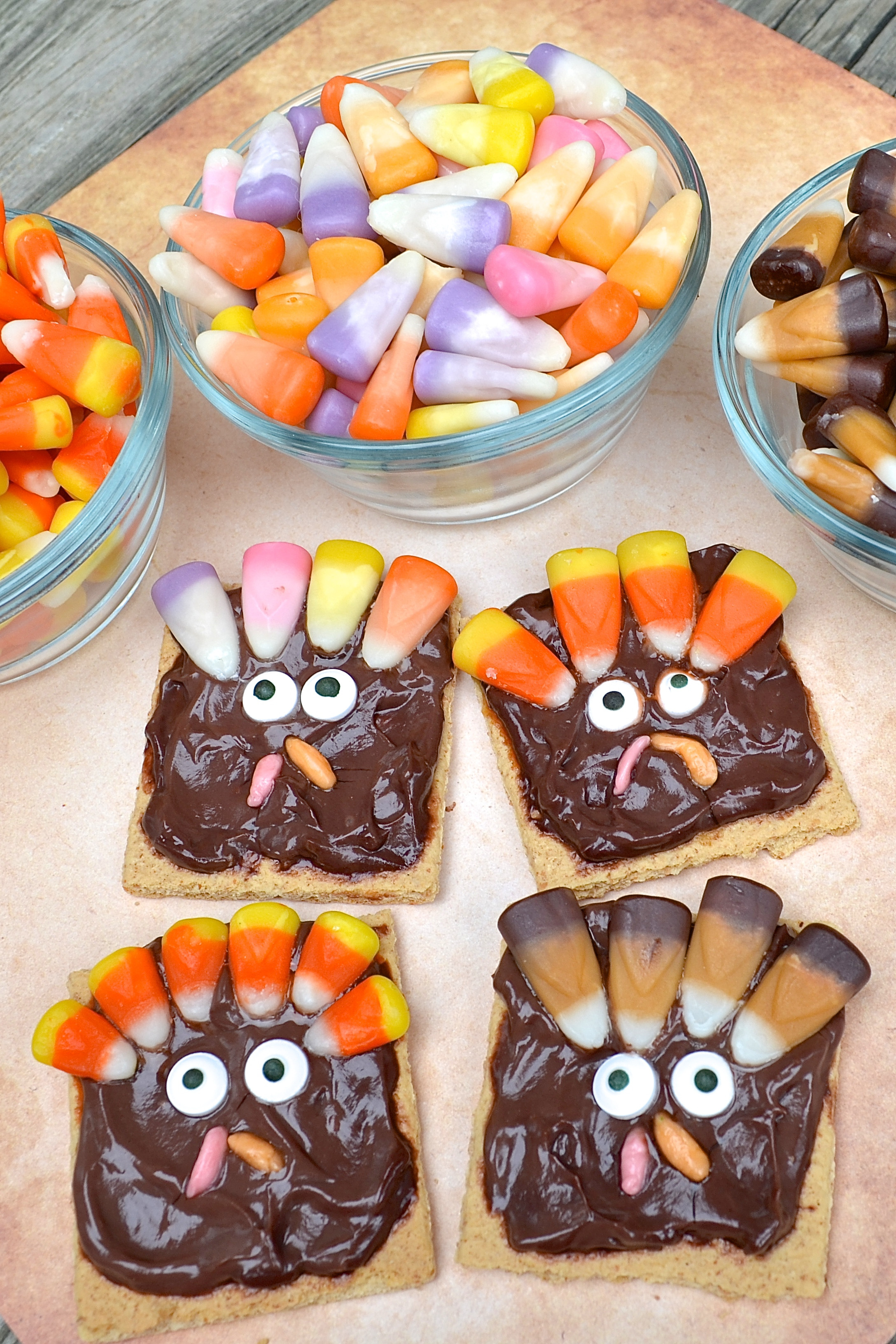Turkey Treats For Thanksgiving  Classroom Treat Candy Corn Thanksgiving Turkey Snack for Kids