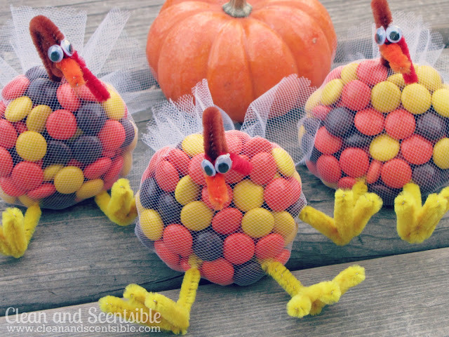 Turkey Treats For Thanksgiving  Turkey Candy Treats