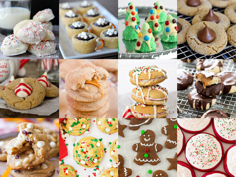 Type Of Christmas Cookies  50 Festive Christmas Cookie Recipes
