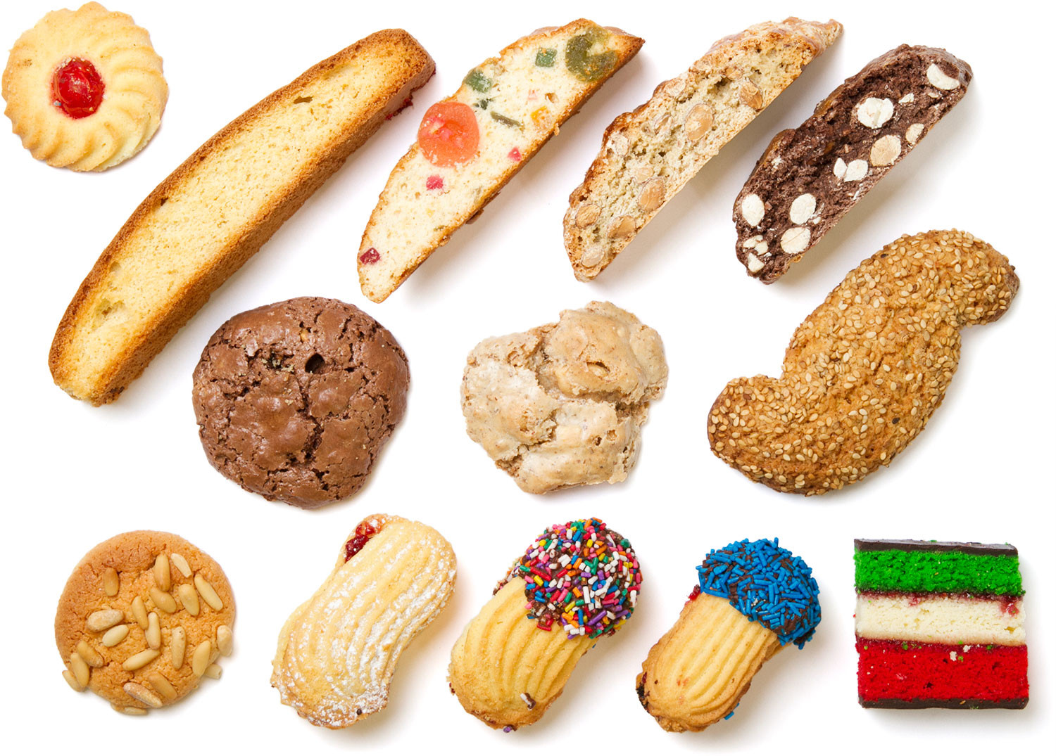 Types Of Christmas Cookies  A Closer Look at Your Italian Bakery s Cookie Case