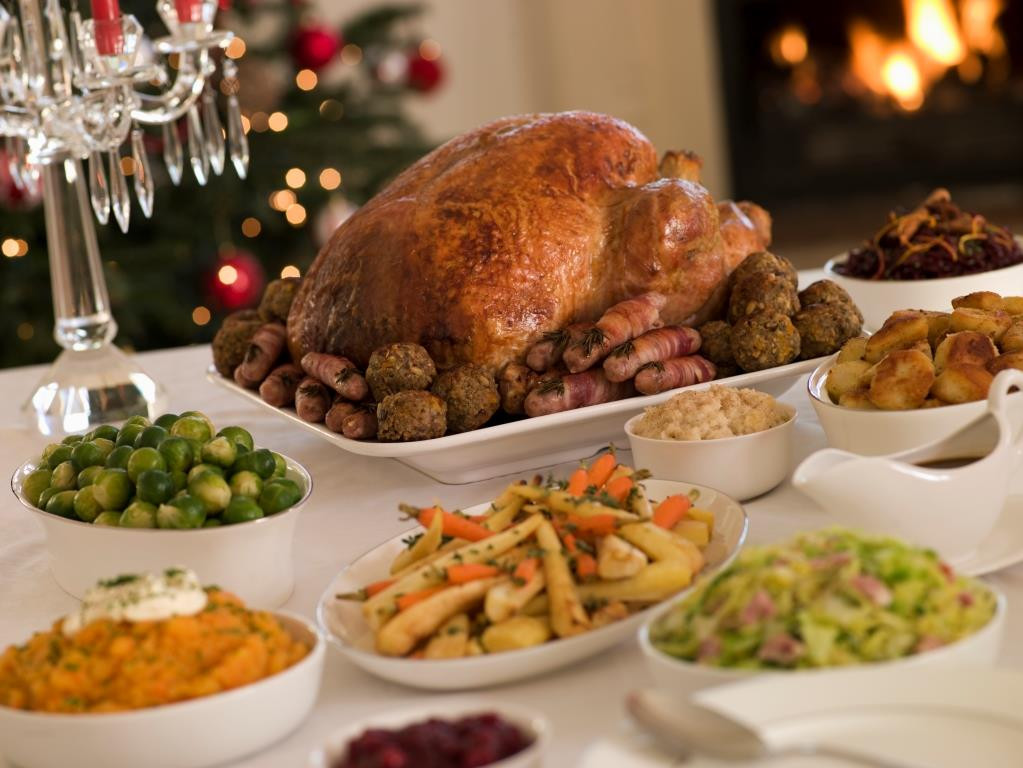 Typical Christmas Dinner  Consumers wrongly believe refreezing cooked meat is unsafe