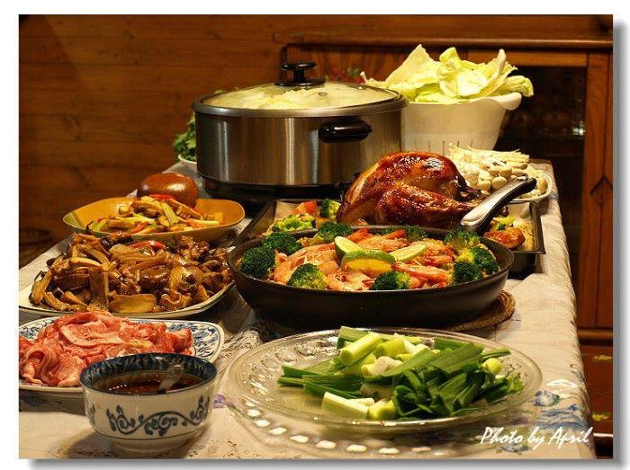 Typical Christmas Dinner  37 best Christmas Buffet Dinner images on Pinterest