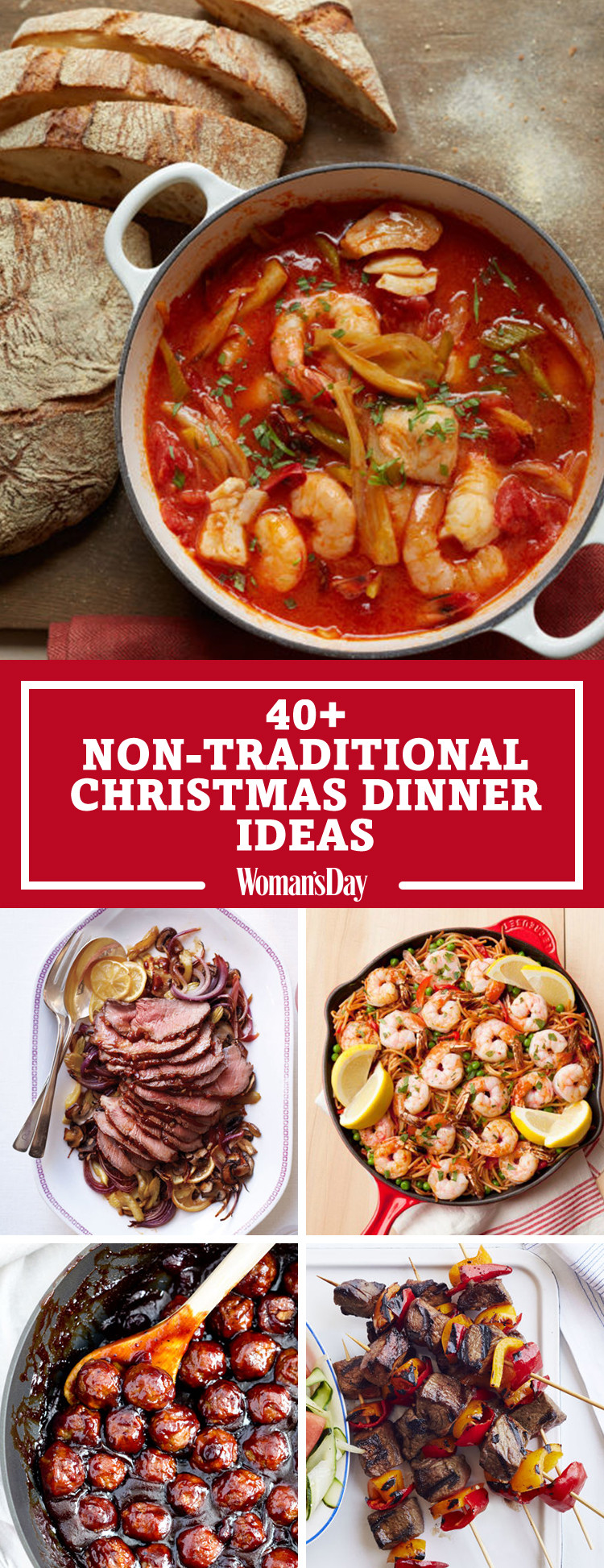 Typical Christmas Dinner  40 Easy Christmas Dinner Ideas Best Recipes for