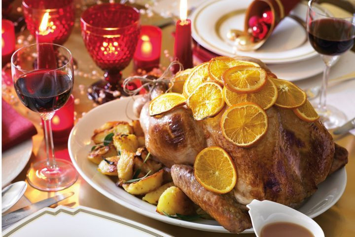 Typical Christmas Dinner  Traditional Christmas dinner