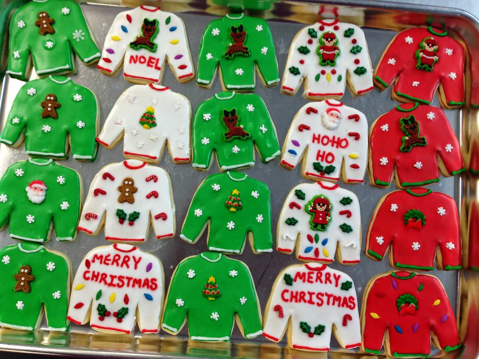 Ugly Christmas Cookies  ALFRESCO The 12 Days of Holiday Cookies Day Five