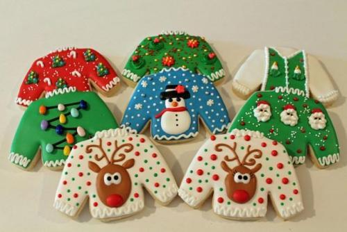 Ugly Christmas Cookies  christmas sweaters on Tumblr