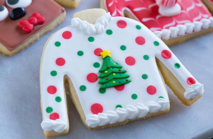 Ugly Christmas Cookies  Easy Ugly Christmas Sweater Cookies Bake at 350°