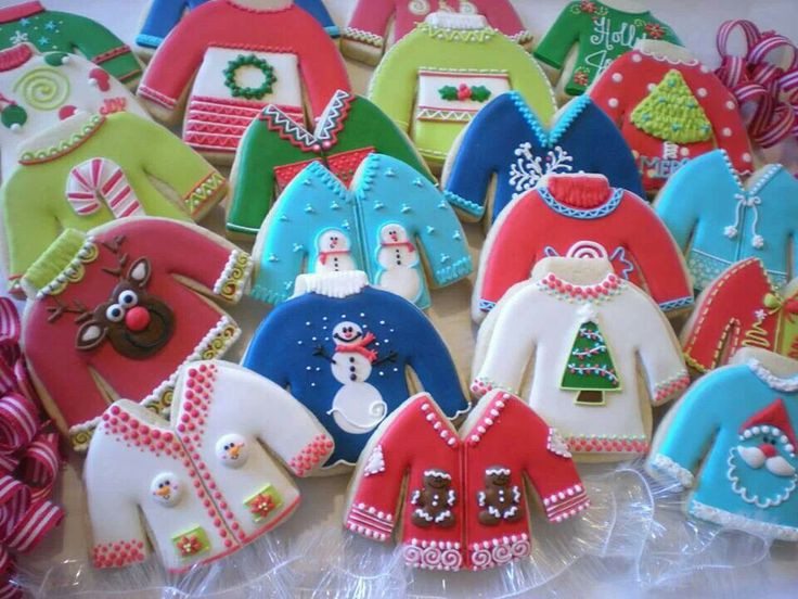 Ugly Christmas Cookies  Ugly Christmas Sweater Party Ideas The Ultimate Guide