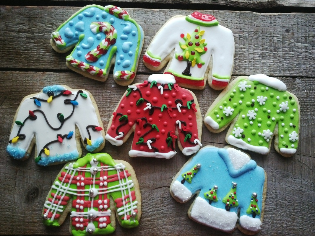 Ugly Christmas Sweater Cookies  From The Kitchen Elgin Harvest Elgin Harvest