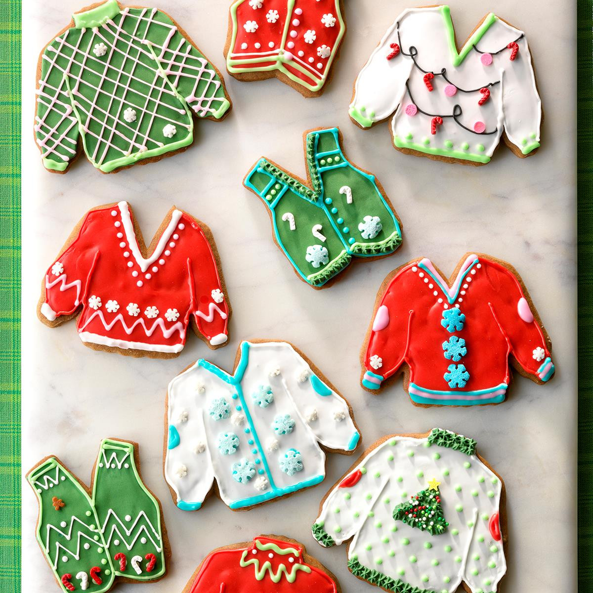 Ugly Christmas Sweater Cookies  Ugly Sweater Cookies Recipe
