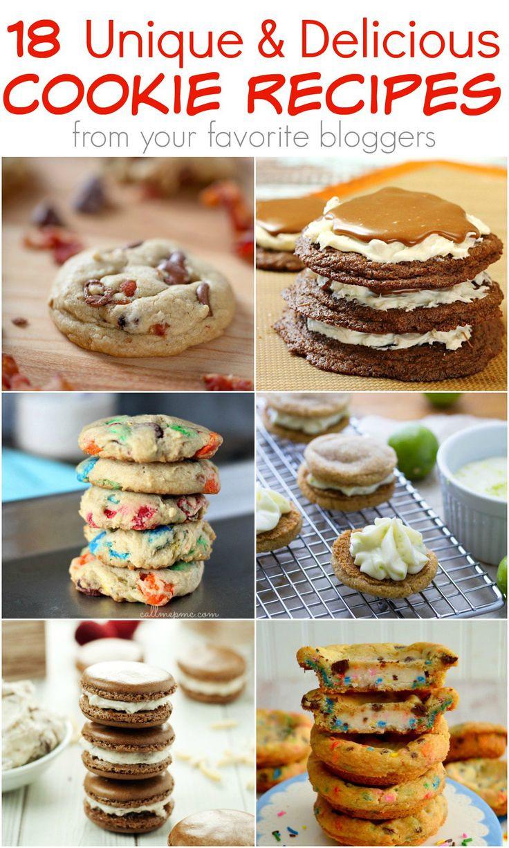 Unique Christmas Cookies For Cookie Exchange  100 Unique cookie recipes on Pinterest