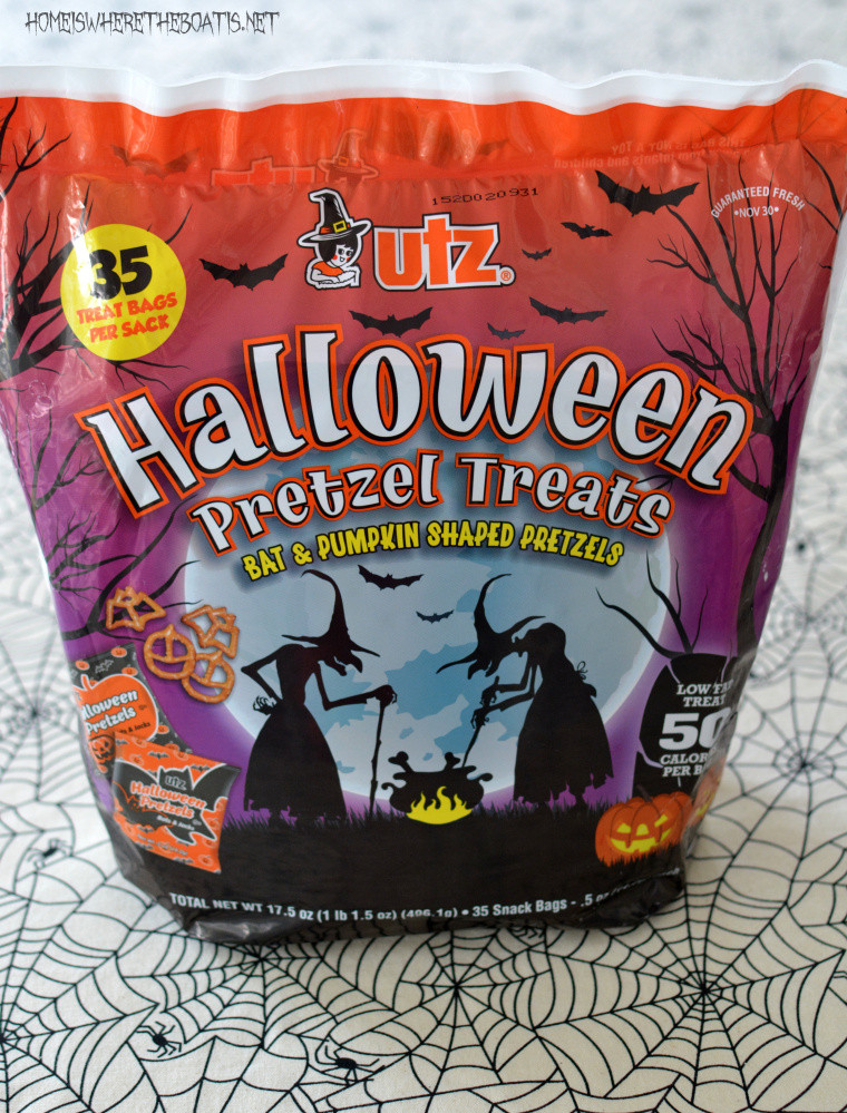 Utz Halloween Pretzels  Easy Witch's Potion Popcorn No Cauldron Required – Home