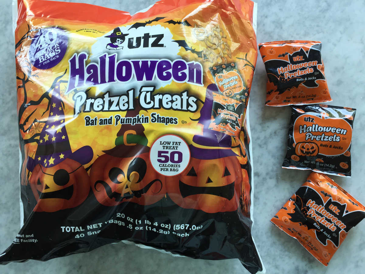 Utz Halloween Pretzels  Healthy Halloween Candy Choices Cooking Light