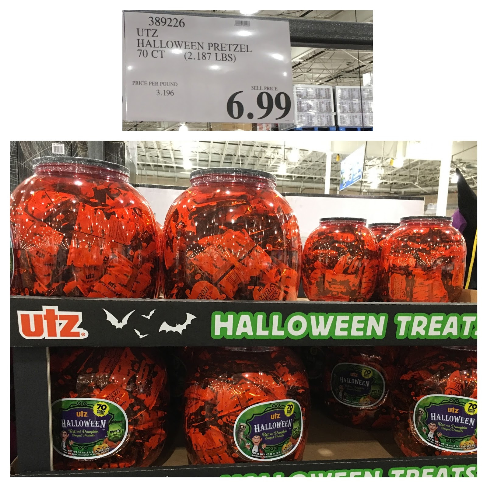 Utz Halloween Pretzels  the Costco Connoisseur September 2016