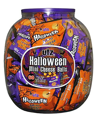 Utz Halloween Pretzels Nutrition Information  Amazon Utz Halloween Shaped Pretzel Treat Barrels 70