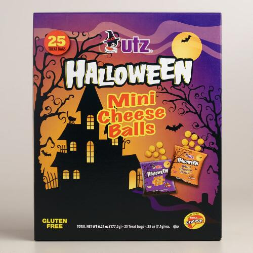 Utz Halloween Pretzels Nutrition Information  Utz Halloween Mini Cheese Balls 25 Count