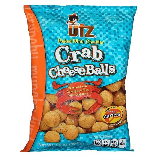 Utz Halloween Pretzels Nutrition Information  crab cheese balls utz