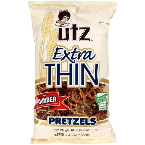 Utz Halloween Pretzels Nutrition Information  Extra Thin Pretzels from Utz