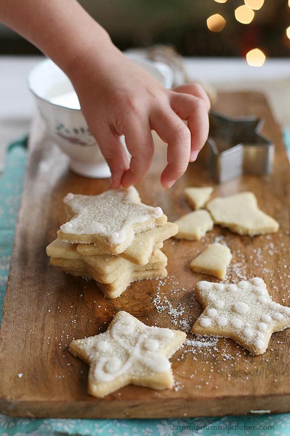Vegan Christmas Cookies Recipe  Vegan Sugar Cookies Yummy Mummy Kitchen