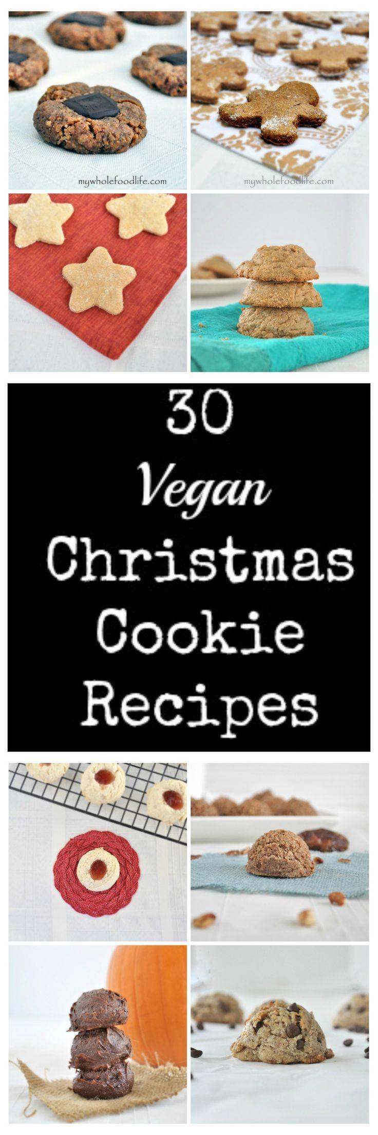 Vegan Christmas Cookies Recipe  17 Best ideas about Vegan Christmas Cookies on Pinterest