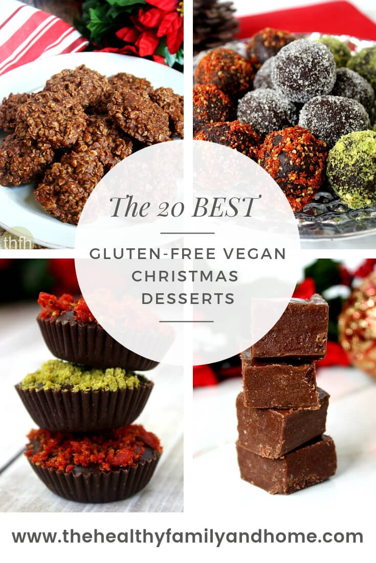 Vegan Christmas Dessert Recipes  Healthy Gluten Free Vegan Christmas Desserts