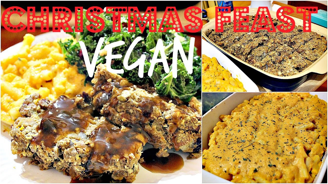 Vegan Christmas Dinner  VEGAN CHRISTMAS DINNER