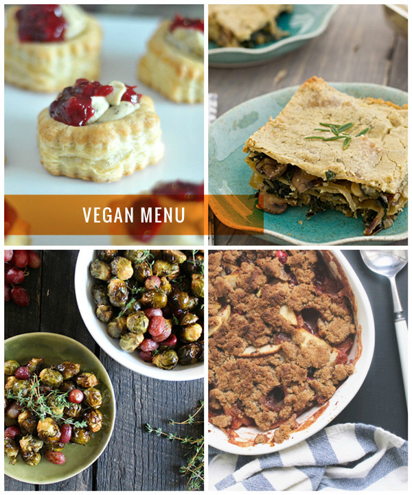 Vegan Christmas Dinner  4 Ve arian Christmas Dinner Menus