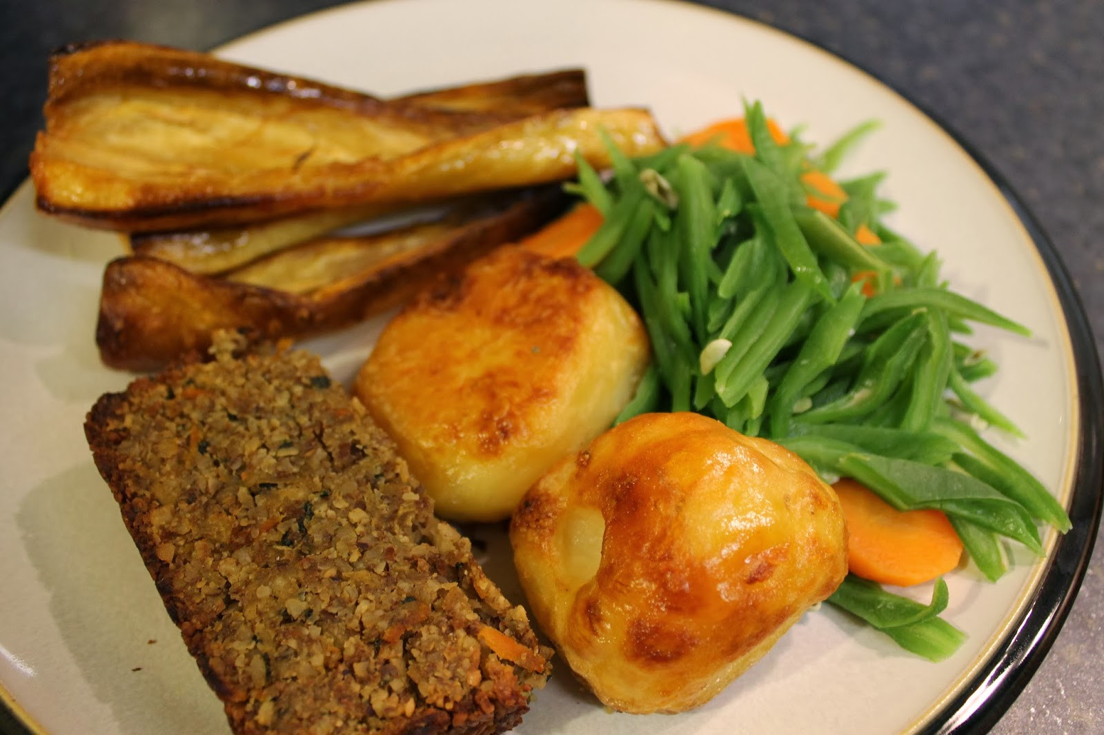 Vegan Christmas Dinner  We Don t Eat Anything With A Face Carrot Parsnip and Nut