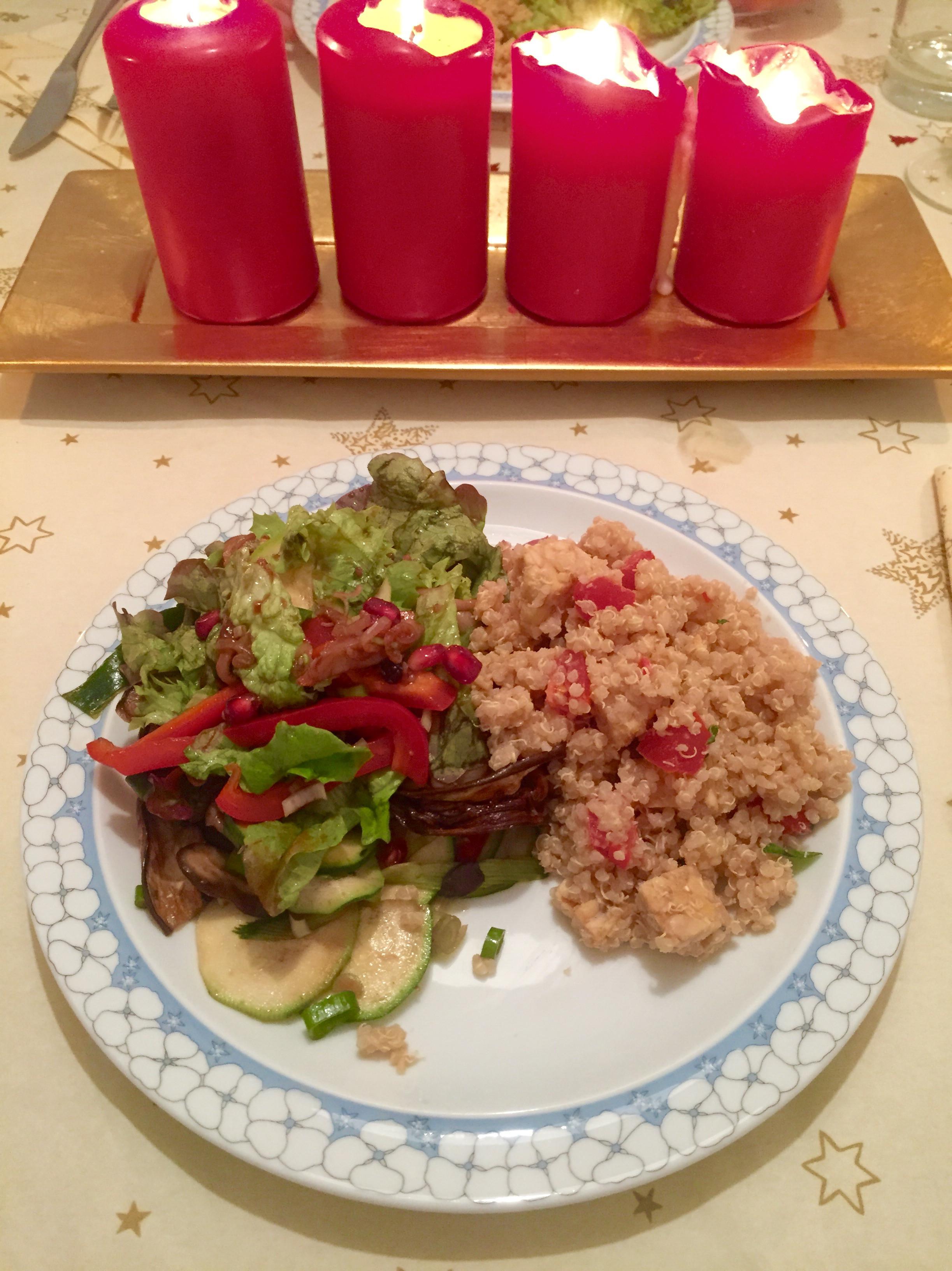 Vegan Christmas Dinners  healthy vegan christmas dinner