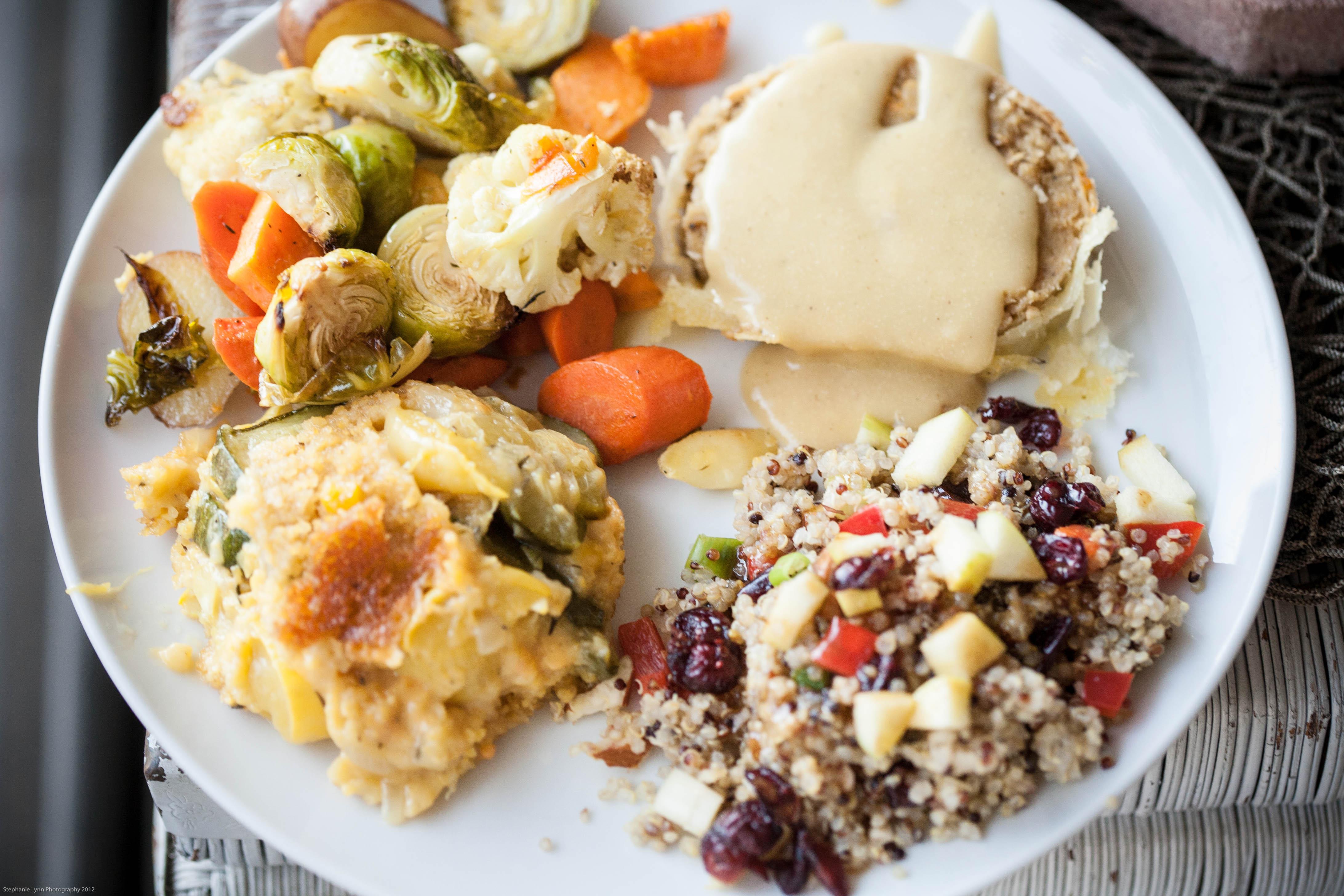 Vegan Meals For Thanksgiving  vegan thanksgiving