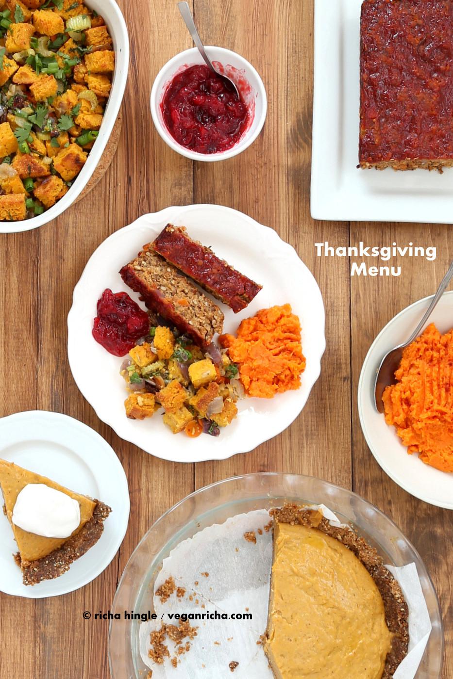 Vegan Recipe For Thanksgiving  80 Vegan Thanksgiving Recipes 2014 Vegan Richa