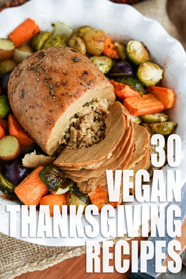 Vegan Recipe For Thanksgiving  Vegan Thanksgiving Recipe Roundup I LOVE VEGAN