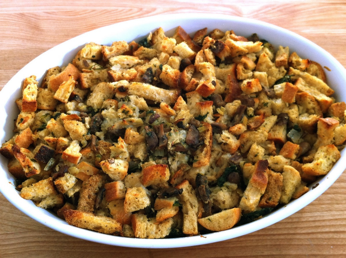 Vegan Stuffing Recipes For Thanksgiving  Great Edibles Recipes Ve arian Stuffing Weedist