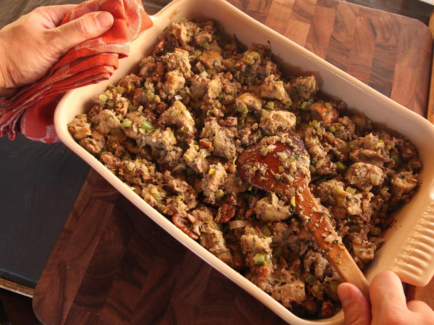Vegan Stuffing Recipes For Thanksgiving  The Food Lab How to Make Vegan Stuffing That Really Rocks