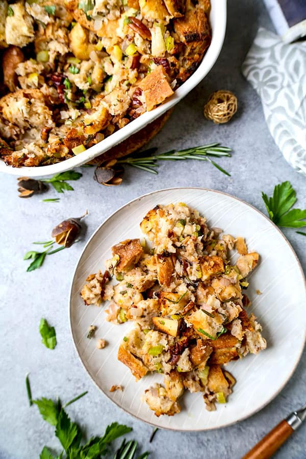 Vegan Stuffing Recipes For Thanksgiving  Easy Vegan Stuffing The Ultimate Pickled Plum Food And