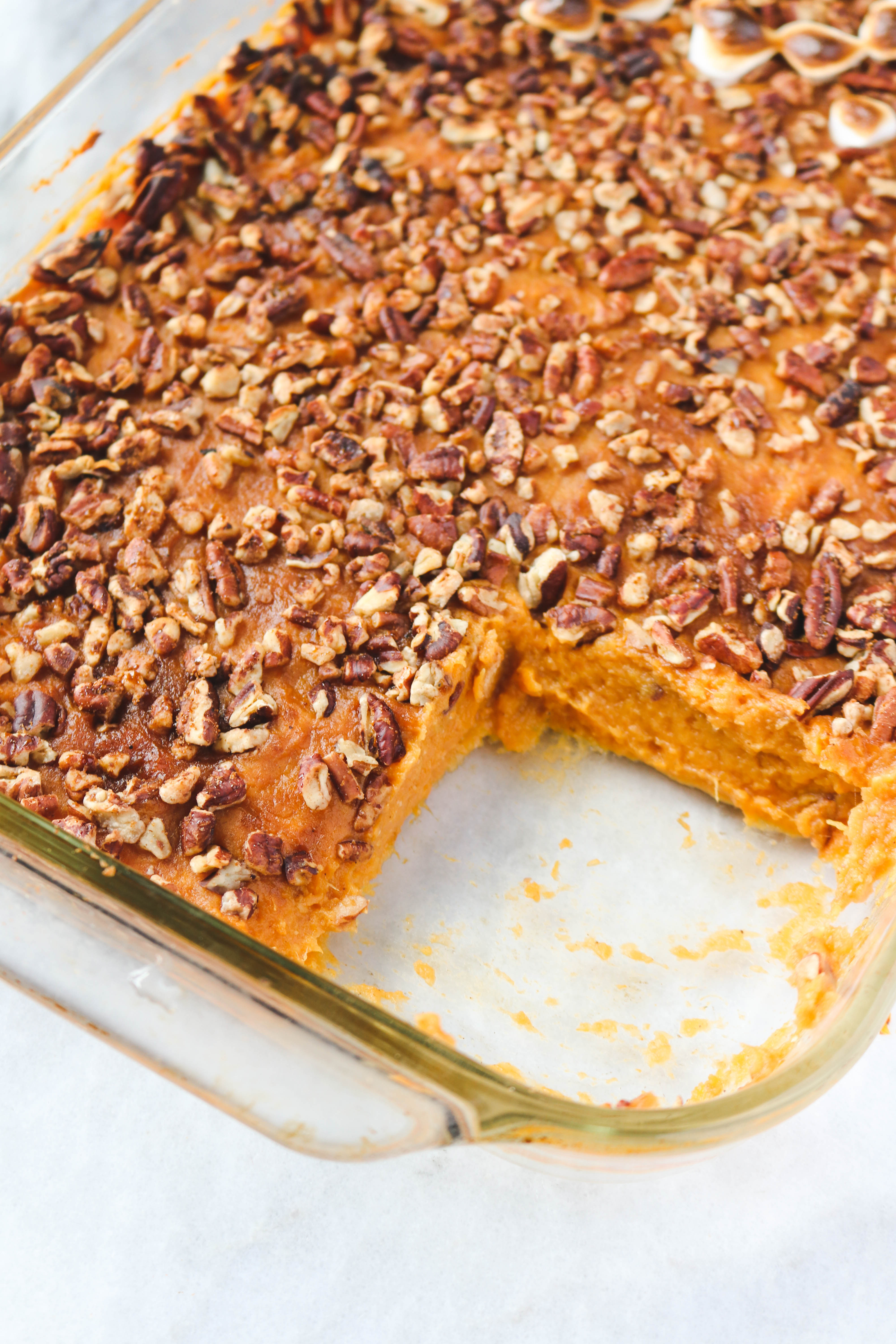 Vegan Sweet Potato Recipes Thanksgiving  Healthy Sweet Potato Casserole Vegan From My Bowl