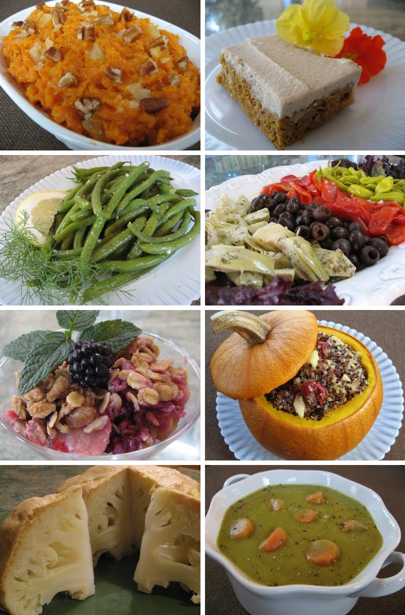 Vegan Thanksgiving Appetizers  Foods For Long Life Healthy Vegan and Ve arian