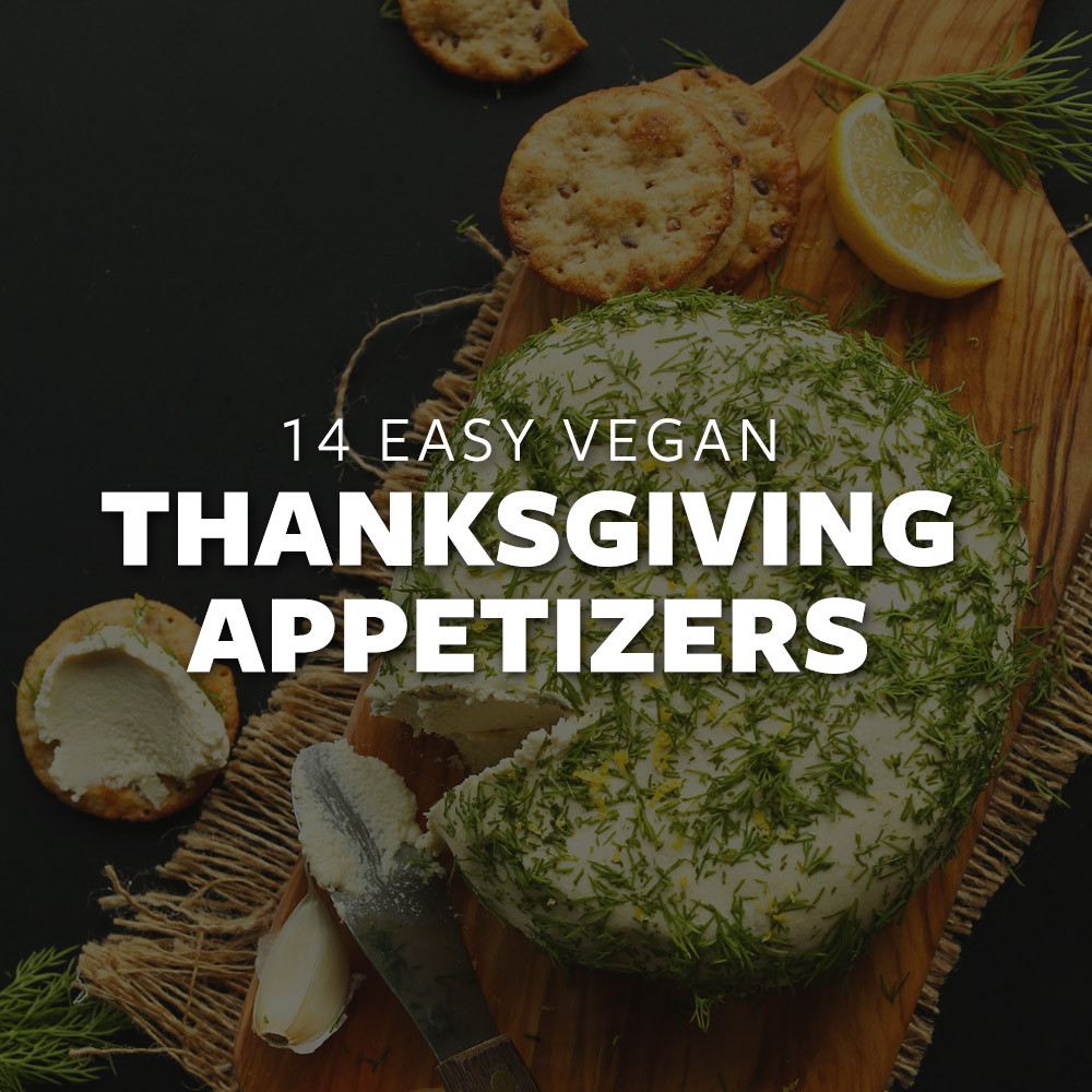 Vegan Thanksgiving Appetizers  14 Easy Vegan Thanksgiving Appetizers