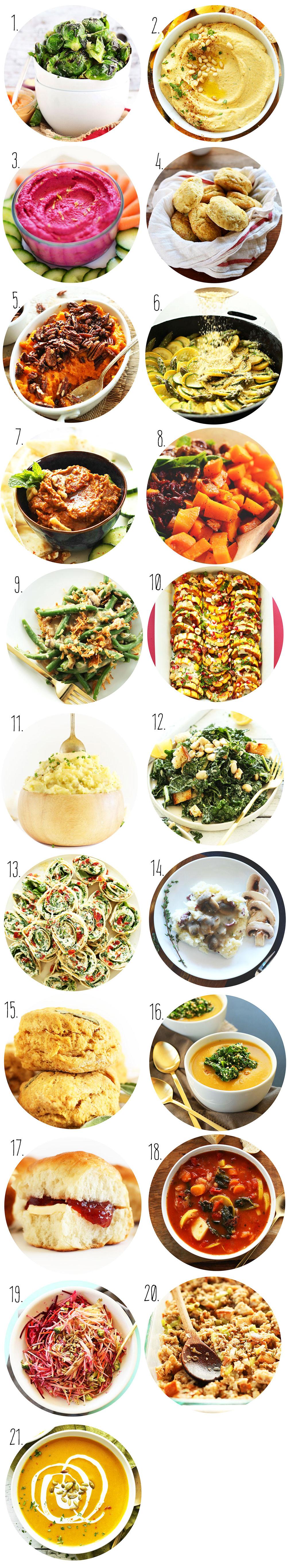Vegan Thanksgiving Appetizers  Vegan Thanksgiving Recipes