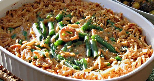 Vegan Thanksgiving Casserole  Vegan Green Bean Casserole