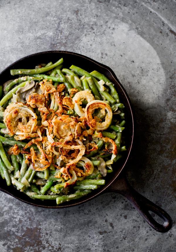 Vegan Thanksgiving Casserole  Vegan Green Bean Casserole Recipe