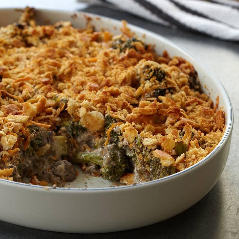 Vegan Thanksgiving Casserole  Broccoli and Wild Mushroom Casserole Recipe Robert