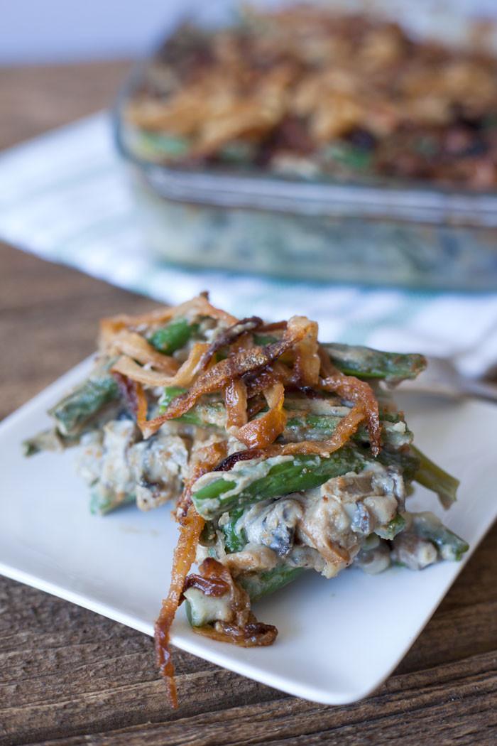 Vegan Thanksgiving Casserole  Green Bean Casserole Recipe