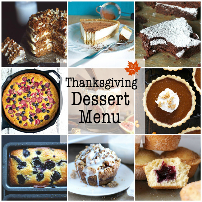 Vegan Thanksgiving Dessert  Vegan Thanksgiving Dessert Menu