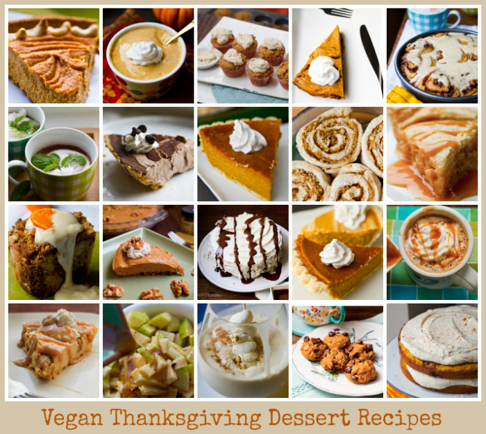 Vegan Thanksgiving Dessert  Vegan Thanksgiving Recipes Mega Recipe Round up Vegan