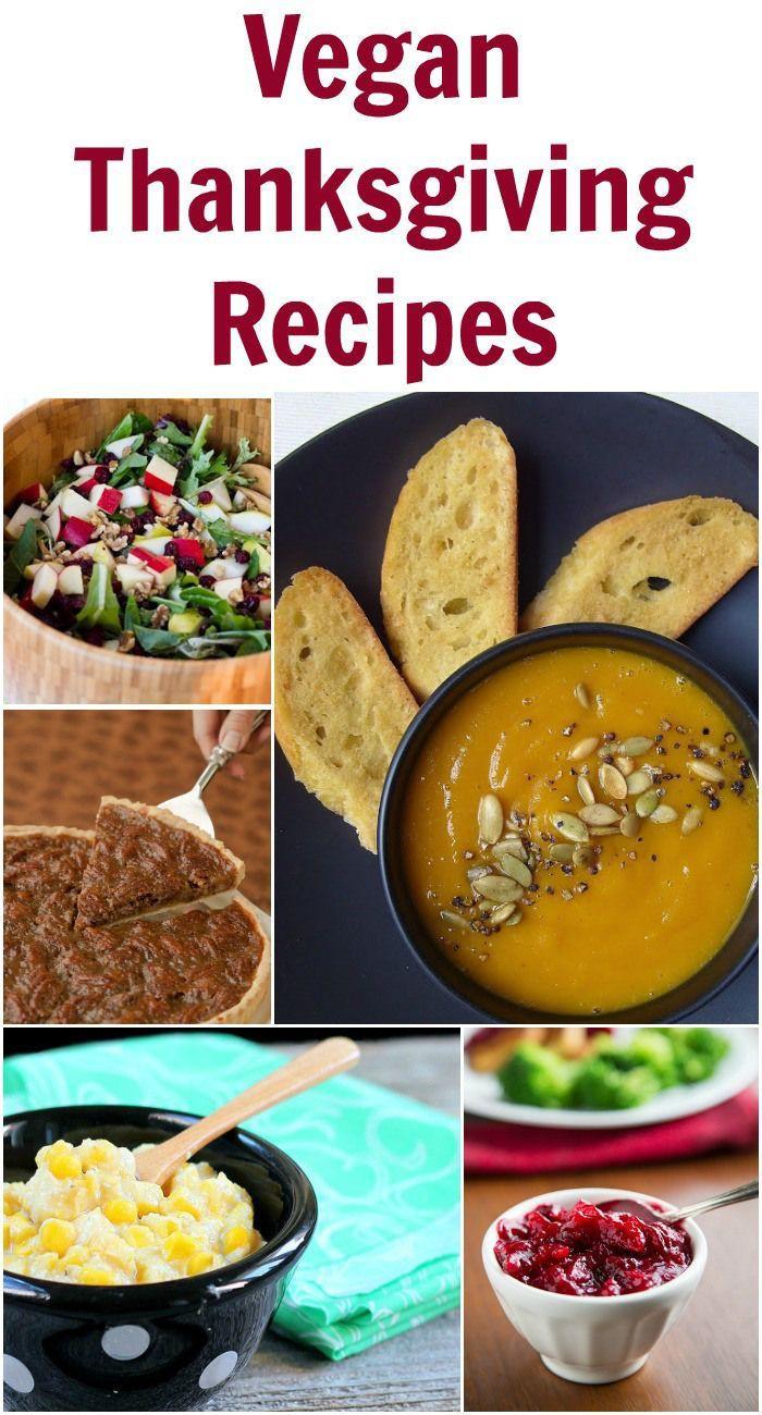 Vegan Thanksgiving Desserts  Vegan Thanksgiving Recipes